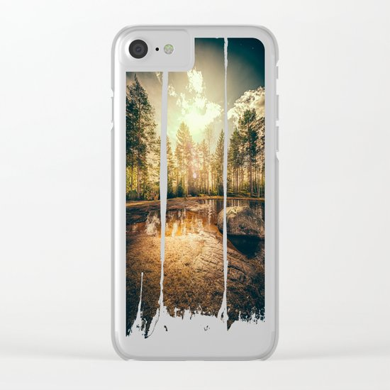 Sonne II Clear iPhone Case