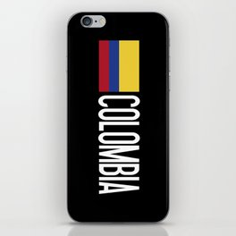 Colombia: Colombian Flag & Colombia iPhone Skin