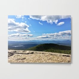 Summit View, Pleasant Mountain, Maine (2) Metal Print