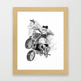 Rank XX Framed Art Print
