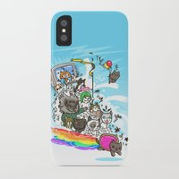 Release The Cats iPhone X Slim Case
