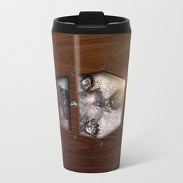 Carbonite prison inside the Wood Glass Coffin iPhone 4 4s 5 5c, ipod, ipad case, tshirt and mugs Travel Mug