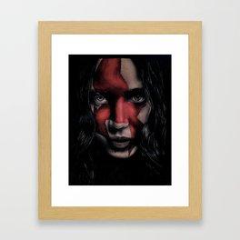 MJ Part 2 - Katniss Everdeen Drawing Framed Art Print