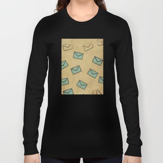 Letter Long Sleeve T-shirt