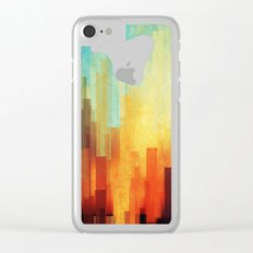 Urban sunset Clear iPhone Case