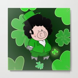Luck of the Irish Metal Print