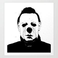 Myers, The Clown Art Print
