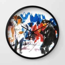 Pulp Fiction dance Wall Clock