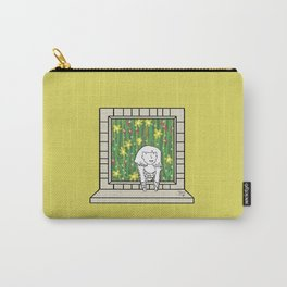 Plenty of imagination: woman in the jungle. Carry-All Pouch