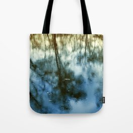 Pond Trees  Tote Bag