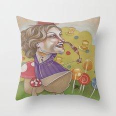 CANDYMAN Throw Pillow