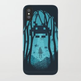 8 Bit Invasion iPhone Case