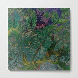 Botanical Sea Metal Print