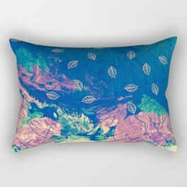 Abstract nature in the mountains Rectangular Pillow