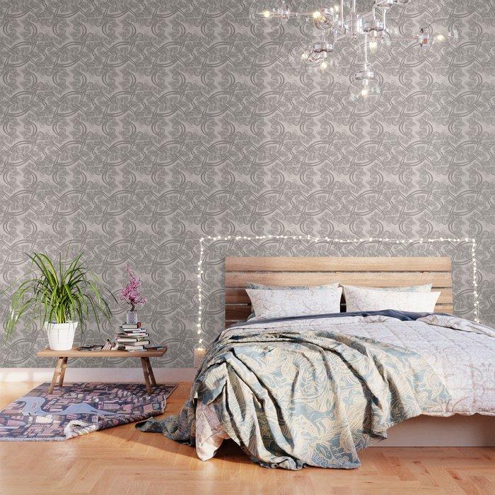 Bridal Blush Fractal Wallpaper