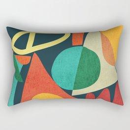 Summer Fun House Rectangular Pillow