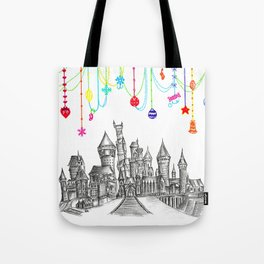 Party at Hogwarts Castle! Tote Bag