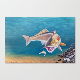 Fish On! Canvas Print