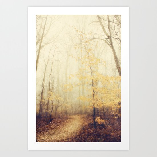 January hush Art Print