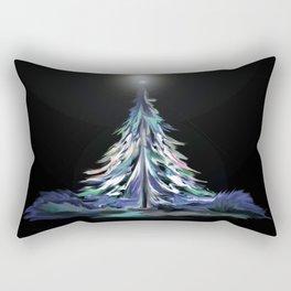 Winter Wonderland Tree Rectangular Pillow