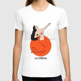 La Sirena Loteria Card: Color Variation T-shirt