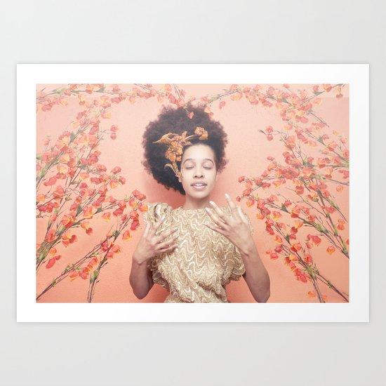 Crown & Glory - (Valentine's Day Discount) Art Print