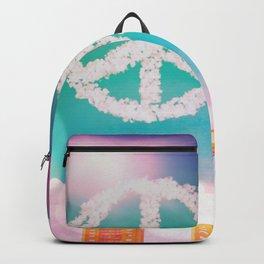 Peace symbol Cloud Fantasy Backpack