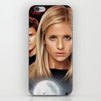 buffy the vampire slayer iPhone & iPod Skins featuring Buffy The Vampire Slayer  by SB Art Productions