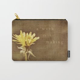 a wish in the making Carry-All Pouch
