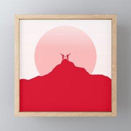 With Love Framed Mini Art Print
