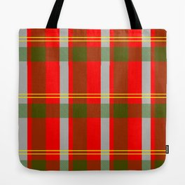 They've Gone Plaid Tote Bag