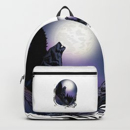 Howling Wolf (Signature Design) Backpack