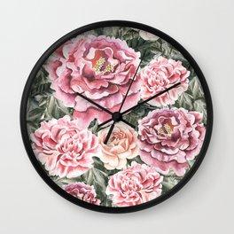 Summer Garden II Wall Clock