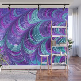 Jewel Tone Abstract Wall Mural