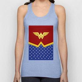 Wonder Of Woman - Superhero Unisex Tank Top