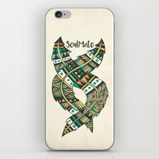 Soulmate Feathers iPhone & iPod Skin