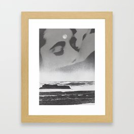 Ghost Waves Framed Art Print