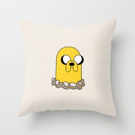 Jakelett Throw Pillow