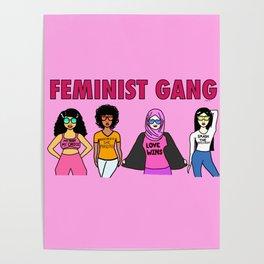 Feminist Gang Poster