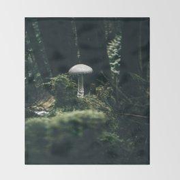Mushroom Throw Blanket