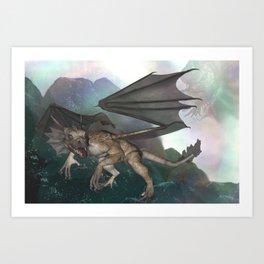 Dragon's Spirit Art Print