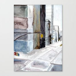 Urban Stained Glass Canvas Print
