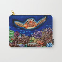 Curious Turtle Carry-All Pouch