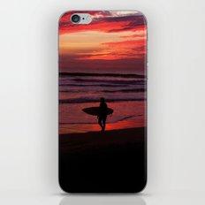 California Beach Sunset iPhone & iPod Skin