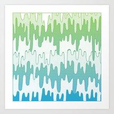 Trippy Drippys Art Print