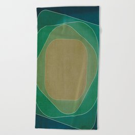 Coherence 1 Beach Towel