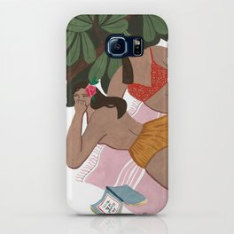 "Girls on a ""Summah"" towel iPhone Case"