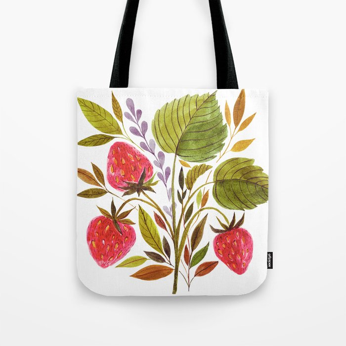 Early Summer Strawberries Are The Sweetest Tote Bag