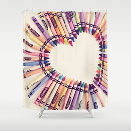 love in every color Shower Curtain