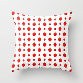 strawberries in springtime 1 Throw Pillow